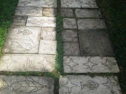 betoniniai takeliai