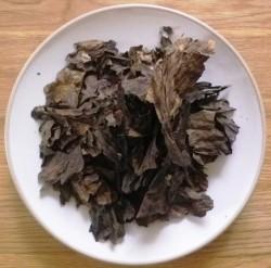 bergenijos -arbata